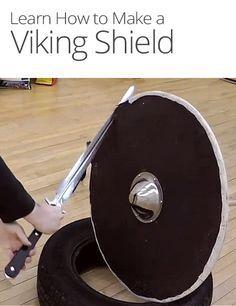 How To Make A Viking Shield Viking Shield Vikings Viking Armor