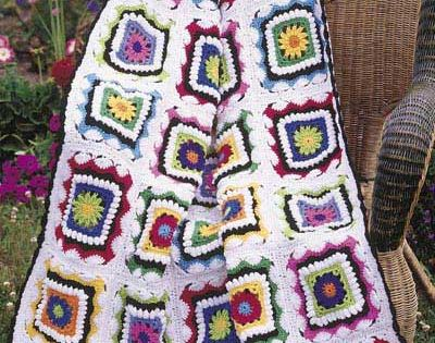 Kids Kaleidoscope Afghan By Carol Alexander - Free Crochet ...