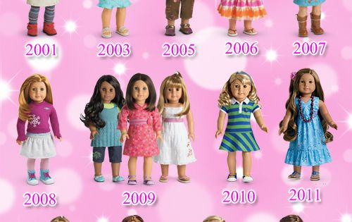 American Girl Dolls Girl Of The Year Lineup Goty Kanani