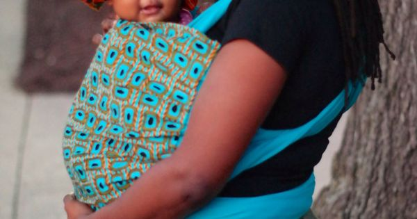 Baby Wrap Earthy African Clothing Inspired Baby Sling