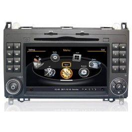 Mercedes A Klasse W169 Doppel Din Autoradio Gps Navigationssysteme