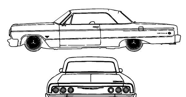 1965 corvette convertible coloring page