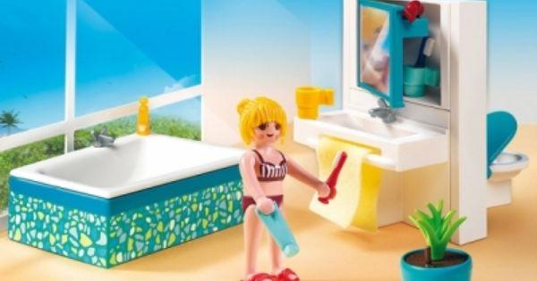 Playmobil Moderne Luxusvilla Playmobil Playmobil Haus Modernes Badezimmer