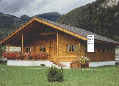 Casas prefabricadas en madera de campo terrazas for Casas de campo de madera