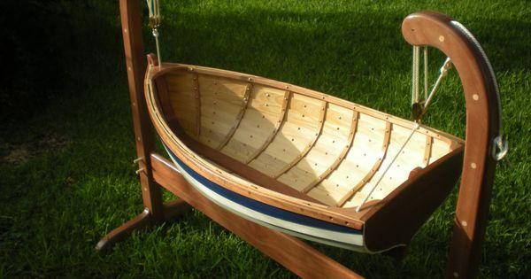 Boat baby crib