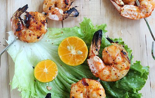 This Vietnamese-style lemongrass grilled shrimp is extremely easy to ...