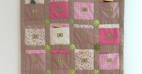adventskalender patchwork adventskalender patchwork und. Black Bedroom Furniture Sets. Home Design Ideas