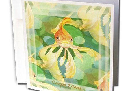 Greeting Cards 6 x 6 inches set of 6 3dRose Happy Nowruz gc/_48482/_1