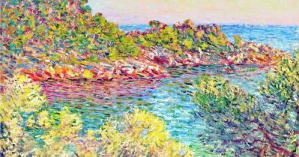 Landscape near Monte Carlo - Claude Monet