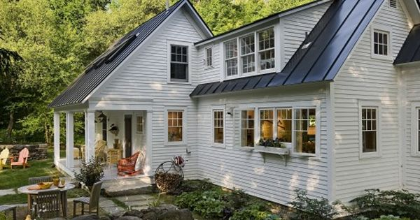 Small Cottage with a Tin Roof {Weekend Dreaming} -by Norwich architect Smith
