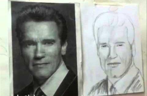 تعليم رسم البورتريه نسب الوجه Art Male Sketch