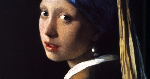 'Girl with a Pearl Earring' (1665) by the Dutch painter Johannes Vermeer.