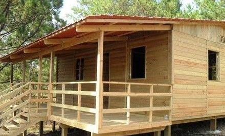 Casas De Madera Economicas Casas Prefabricadas Prefabricated Houses Simple House Design Bamboo House
