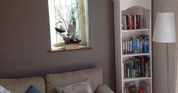 Feature Wall In Our Living Room Paint Colour Dulux Classics Cocoa Powder Lounge Ideas
