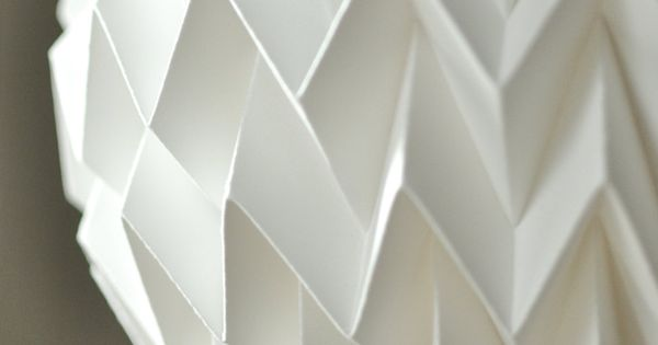 Image result for how to make paper light shades