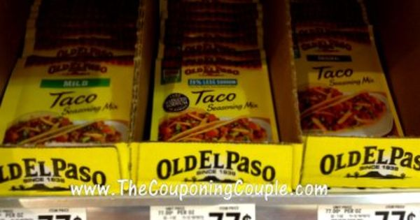 Old El Paso Moneymaker At Publix Up To 2 29 Profit On 3 Publix Printable Coupons Old El Paso