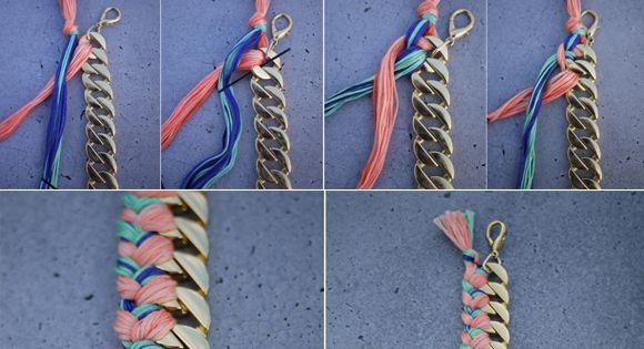 Chain bracelet idea
