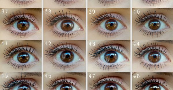 100 mascaras tested on ONE eye: picture reviews - This month in