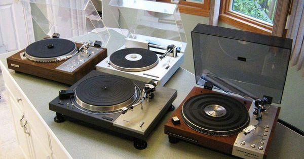 Vintage Audio Love Turntable Marantz Pioneer Hifi Turntable Turntable Hifi