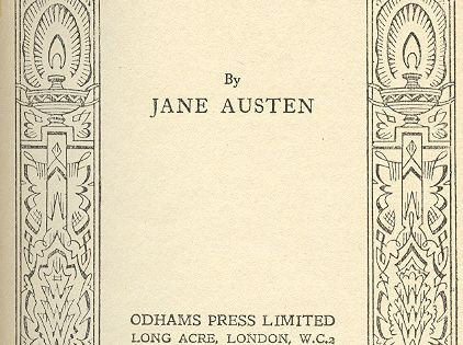 Pride and Prejudice, older edition. janeausten, prideandprejudice, britishliterature