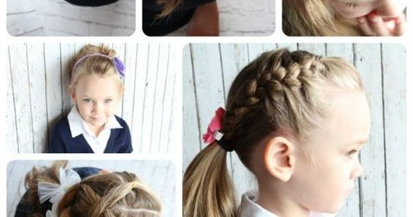 Swell Easy Hairstyles For Little Girls 10 Favorite Tutorials Easy Hairstyle Inspiration Daily Dogsangcom