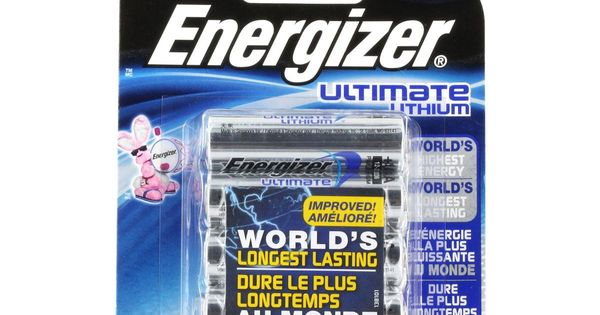 Energizer L91bp 8 Ultimate Lithium Aa Batteries 8 Pack 1 5v Aa8 3000mah X2036 Energizer Batteries Duracell