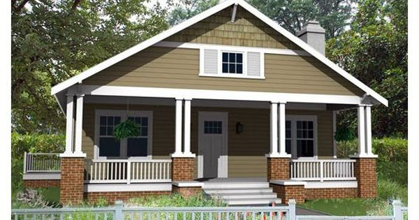 One Of Our Most Efficient Bungalow Home Plans Classic