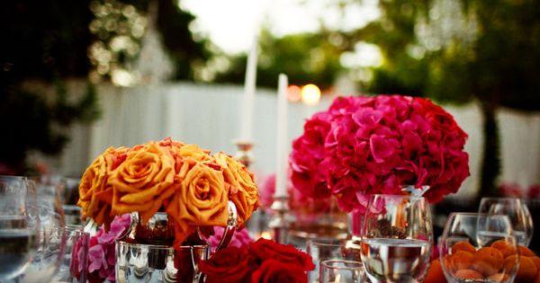Decoration de mariage champetre et printaniere  Mariage, Centre and ...