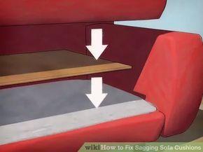 How To Fix Sagging Sofa Cushions Cushions On Sofa Sofa Cushions