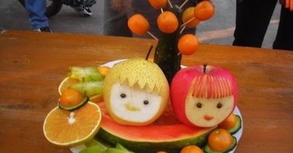 Fruit Carving - Vegeta...