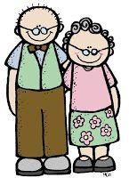 Grandparents Old Man Cartoon Melonheadz Easy Drawings For Kids