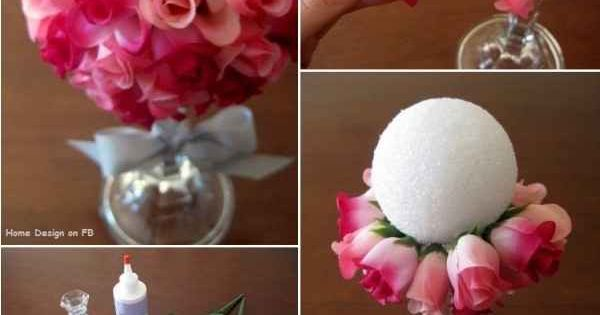 flower ball from youramazingplaces.com 101 DIY Projects How To Make Your Home