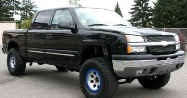 2004 Chevrolet Silverado 1500 Lt Crew Cab Lifted 4x4 Truck