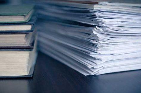 Je Trie Mes Papiers Rangement Papier Administratif