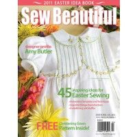 Sew Beautiful Magazine Issue 135 Digital Download Martha Pullen Gown Pattern Christening Gowns Sewing