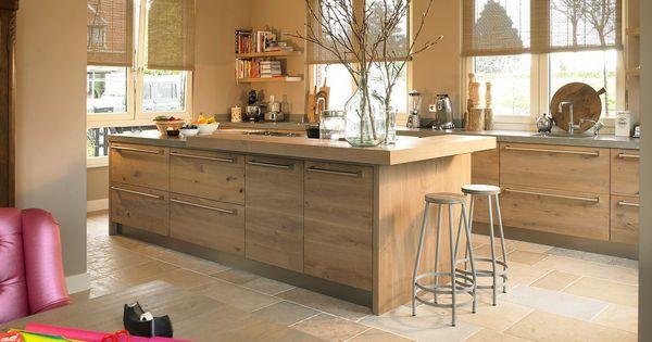 Tieleman houten woonkeuken model welsh product in beeld startpagina voor keuken idee n - Deco eetkamer rustiek ...