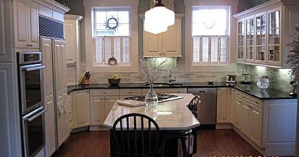 Kitchen in federal style home c 1851 superior for Federal style kitchen
