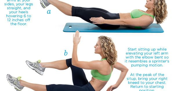 """The Sprinter"" ab workout"