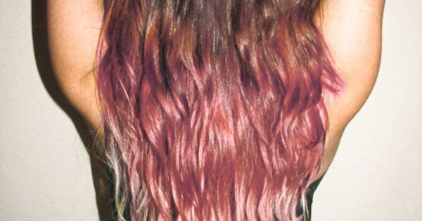 Light pink ombre. I think I´ll do this to my hair, even