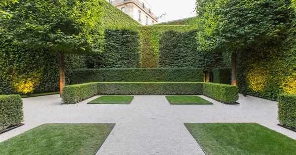Formal garden arquitectura urbanismo decoraci n - Paisajismo jardines pequenos ...