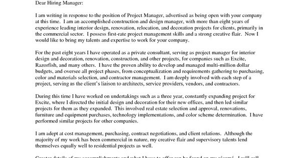 Interior Designer Cover Letter Examples Wallpaper