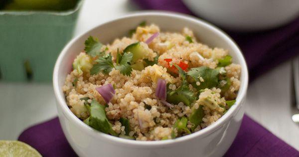 ... lime quinoa, Quinoa salad recipes and Quinoa salad on Pinterest