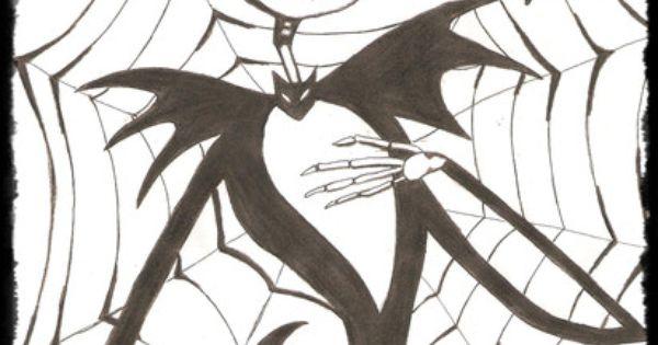Dibujos Para Colorear De Jack Skeleton - Imagui