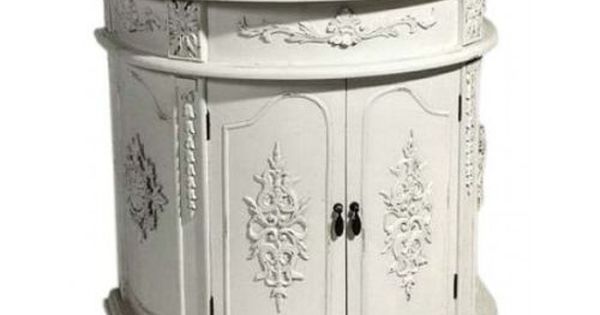 French Bathroom Vanity Units And Shabby Chic On Pinterest
