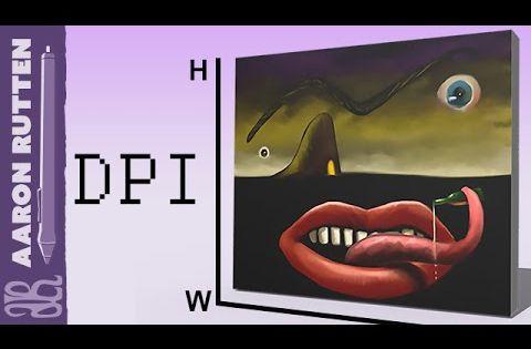 Best Canvas Resolution For Digital Art   Digital Painting ...