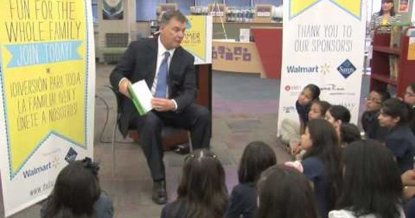 Mayor Mike Rawlings Summer Reading Club Youtube Programs Initiatives Reading Club Reading Central Library