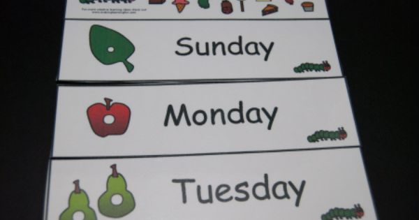 Hungry Caterpillar Days of the Week-3 | Books- The Very ...