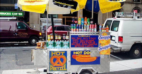 Hotdogs Pretzels Nuts Drink With Images Hot Dog Cart Hot Dogs