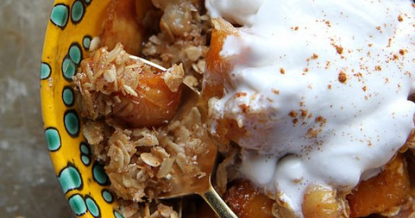 Pear crisp, Pears and Pumpkins on Pinterest
