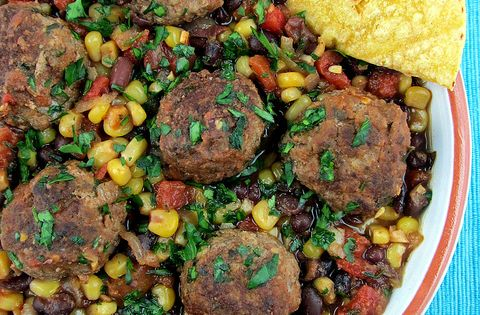 Southwest Meatball Skillet | Recipe | Skillets, Cinnamon spice and ...